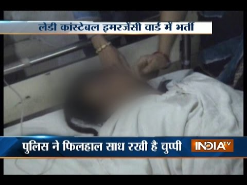 Xxx Mp4 Suspended Lady Constable Tries To Commit Suicide In Allahabad 3gp Sex
