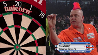 Peter Wright v Michael van Gerwen - HappyBet European Darts Grand Prix Final 2017