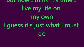 Glee-Don't You Want Me Baby Lyrics