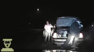 Officer Subdues Wanted Fugitive
