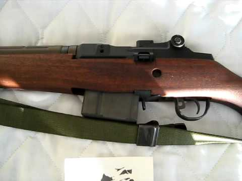 Springfield Armory M1A .308 close up look at two things