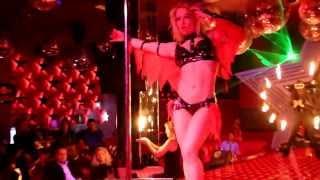 Anastasia Sokolova - Perform Pole Dance In A Cabaret Show