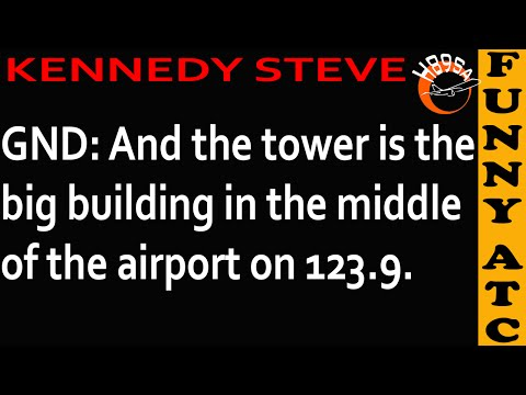 watch Funny ATC: SKILLED CONTROLLER & BRAVE PILOTS!