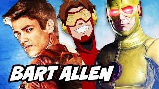 The Flash Season 4 Episode 1 Bart Allen Reverse Flash Scene Explained