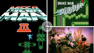 Mega Man 3 - Snake Man   EXTRA LIVES