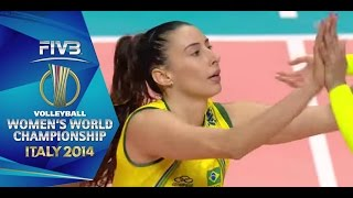 Sheila Castro leads the way for Brazil's Ticket to the semi-final