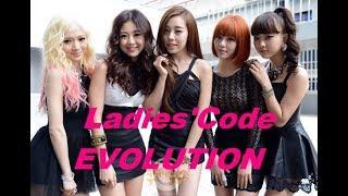 Ladies'Code MV Evolution 2013-2016