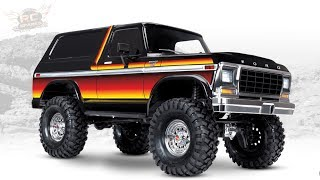 """RC ADVENTURES - UNBOXiNG a NEW 1979 """"SUNSET"""" TRAXXAS TRX-4 BRONCO - 1/10th Scale Trail Crawler"""