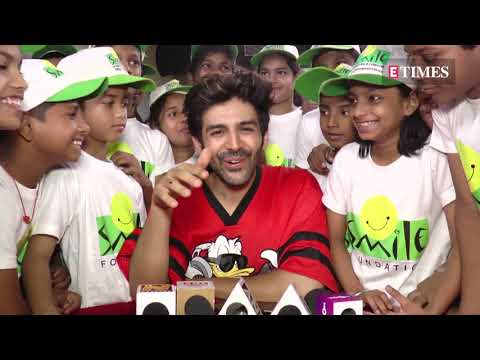 Xxx Mp4 Childrens Day 2018 Kartik Aaryan Spends Time With Kids At Smile Foundation 3gp Sex