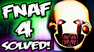 FNAF 4 PUPPET SECRET || Puppet's Hidden Text! || Five Nights at Freddy's 4 Explained