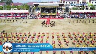 Tari Meusaho Pada Opening PIONIR VIII