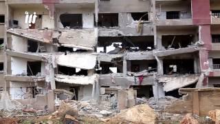 قصف روسي مكثّف يخلّف دماراً كبيراً في مناطق متفرقة في محافظة درعا