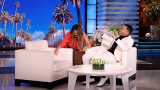 Chrissy Teigen Scares Guest Host John Legend