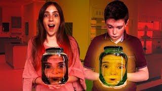 HEADS STUCK IN A JAR!!