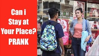 Can i STAY AT YOUR PLACE Prank by Super Desi People ( Pranks in India)