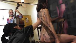 BODY PAINTING in Kyoto  japan