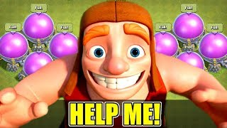 I CANT SPEND MY LOOT!! - Clash Of Clans - TIME FOR A GEM SPREE!?