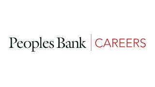 Careers at Peoples Bank - 2018