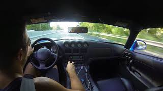 1997 Viper GTS acceleration video