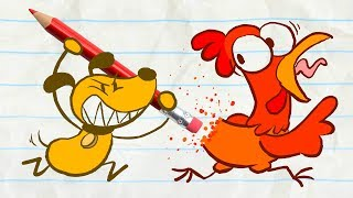 新年快樂 Pencilmate Celebrates the Chinese New Year! -in- COCK-A-DOODLE DUDE - Pencilmation Cartoons