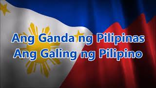 Philippine Independence Day | ALL STARS Biyahe Tayo with Lyrics | BF Channel