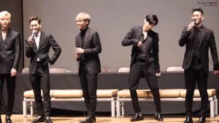 160326 뉴이스트 여왕의 기사 명동 팬사인회 (3) 엔딩 + 여왕의 기사 live