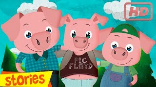 THREE LITTLE PIGS, story for children - Clap Clap Kids, fairy tales and songs for kids
