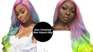 How I Snatched Blac Chyna's Wig | Shalomblac