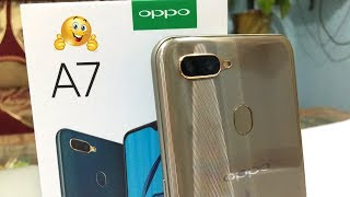 Oppo A7 Unboxing And Camera Test II सस्ता और अच्छा  ✅📸🔥