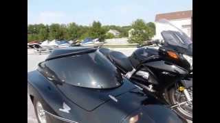 2006 Honda ST1300 with sidecar stock #9-4556 demo ride walk around Diamond Motor Sports