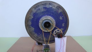 Free Energy Self Running Machine Using DC Motors