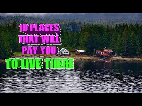Top 10 places that will pay you to live there. Alaska and Detroit are on the list.
