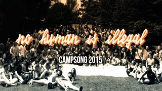 NO HUMAN IS ILLEGAL - DIDF Jugend - Campsong 2015