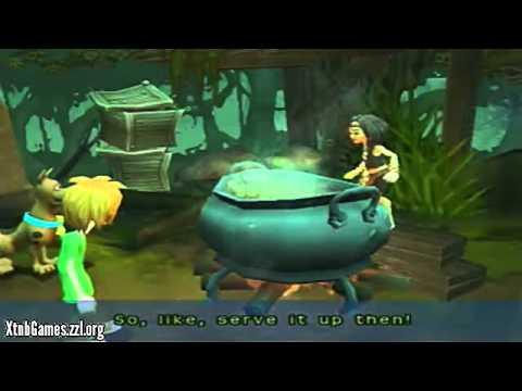 PS2 Walkthrough Scooby Doo Spooky Swamp Part 1