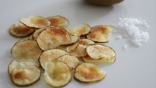 How to Make Super Quick and Easy Potato Chips - Heghineh Cooking Show