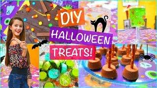 DIY Halloween Party Treats And Snack Ideas! | Tatiana Boyd