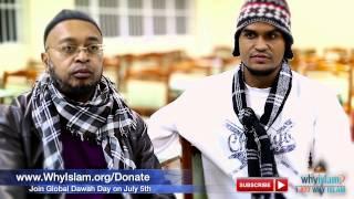 Former Christian Missionary Accepts Islam | WhyIslam FIFA Highlights #12