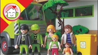 Playmobil en español El camión de la basura - La Familia Hauser
