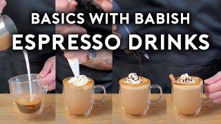 Espresso Drinks   Basics with Babish