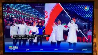 Iran Team in 2018 Winter Olympics
