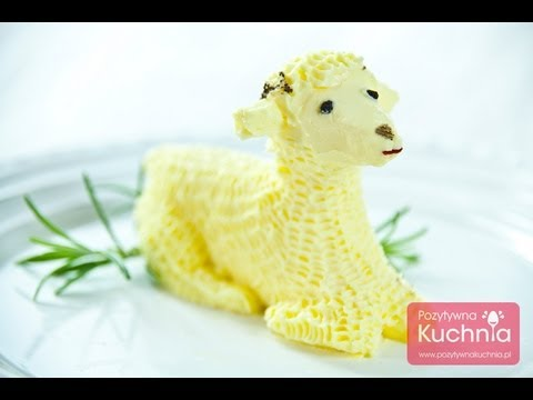 Easter butter lamb DOROTA.iN
