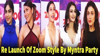 Zoom Styled By Myntra Party 2018 | Ankita Lokhande, Adah Sharma, Amyra Dastur | Bollywood Events
