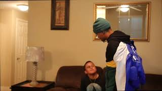 I GOT BEAT UP PRANK ON BROTHER!!! *HE GETS MAD!! 😡 😠 **