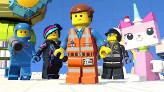 LEGO Dimensions - All 5 LEGO Movie Characters + Free Roam