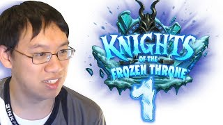 Knights of the Frozen Throne - Card Review #1 w/ Trump - Featuring Ticking Abomination!