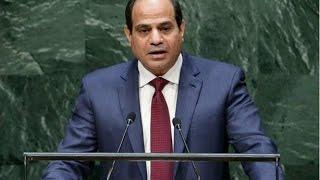 خطاب السيسى في الامم المتحدة - السيسي يخرج عن النص ويوجة رساله هامة لاسرائيل بكلمتة بالامم المتحدة