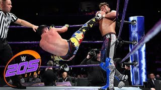 Noam Dar vs. TJP: WWE 205 Live, Aug. 21, 2018