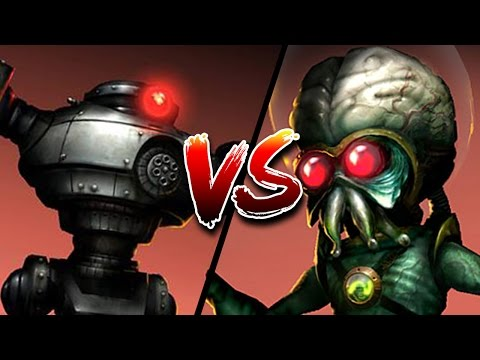 ROBOT VS ALIEN - War of the Monsters ENDING