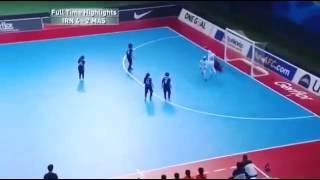 سوپر گل فوتسال بانوان ایران به تایلند در جام ملت ه