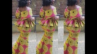 Collection of Ankara and Aso Ebi Lovely Styles 2017